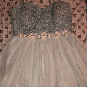Windsor strapless dress